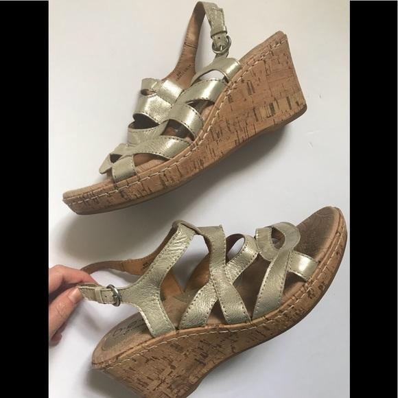 1deb9892e67 b.o.c. Shoes - Born B.O.C Chyna Wedge Sandal NWOT